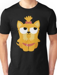 Shih Tzu Emoji Thinking Hard and Hmm Face Unisex T-Shirt