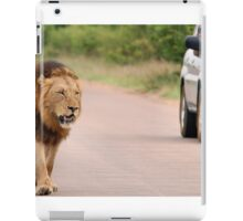 THE ULTIMATE EXPERIENCE IN KRUGER - THE LION - Panthera leo  iPad Case/Skin