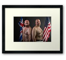 July - Independance Day (w/Troy T. Scott) Framed Print