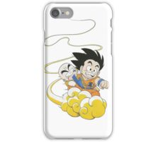 Goku Krillin cloud iPhone Case/Skin