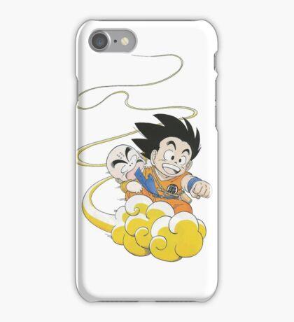 Goku Krillin cloud iPhone Case/Skin