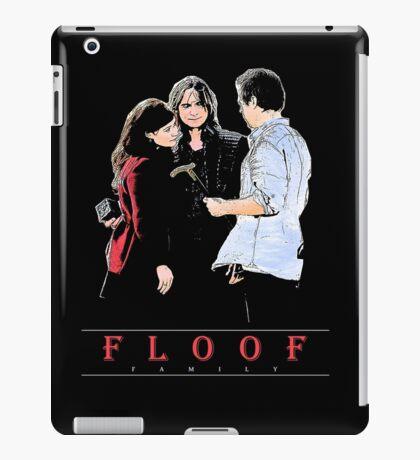 THE FLOOF FAMILY. iPad Case/Skin
