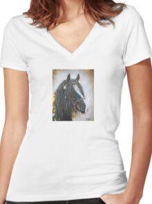 """""""Finn"""" Women's Fitted V-Neck T-Shirt"""