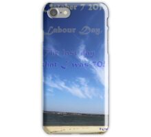Like sand................through the hour glass........Tempes fugit! iPhone Case/Skin