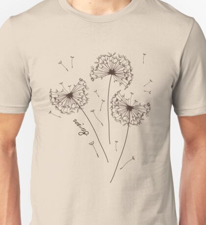 Air Dandelions Unisex T-Shirt
