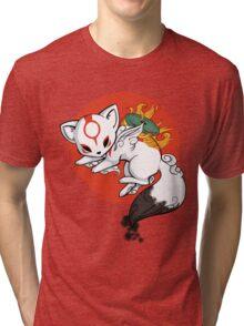 Chibi Okami Tri-blend T-Shirt