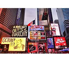Times Square West H  Photographic Print