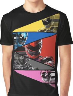Power Rangers Movie Team (2017) Graphic T-Shirt