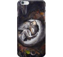 Sleeping Squirrel iPhone Case/Skin