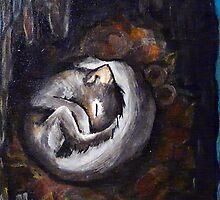 Sleeping Squirrel by sahmwich-art