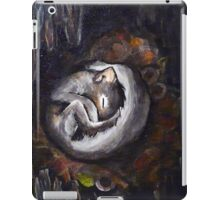 Sleeping Squirrel iPad Case/Skin