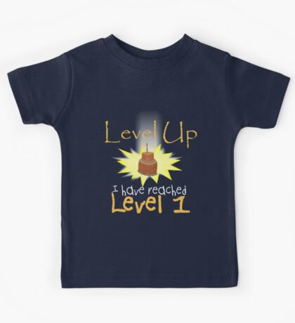 Level Up Kids Tee