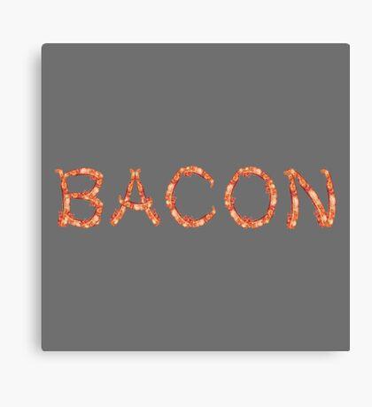BACON.  Canvas Print