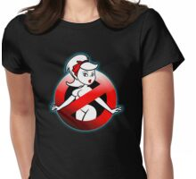 The REAL Lady Ghostbusters - Rule #63 (Logo) Womens Fitted T-Shirt