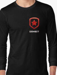 Gambit Gloss - Red Long Sleeve T-Shirt
