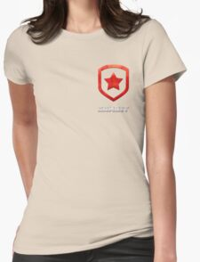 Gambit Gloss - Red Womens Fitted T-Shirt
