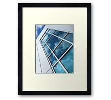 Reflections Of A Sunlit Sky Framed Print