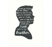 Stiles Quotes- Number One in a Series Art Print