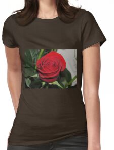 Rose Purity Womens Fitted T-Shirt