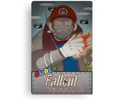 Super Fallout New Vegas  Canvas Print