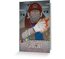 Super Fallout New Vegas  Greeting Card