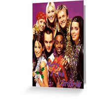S Club 7 Christmas Card Greeting Card