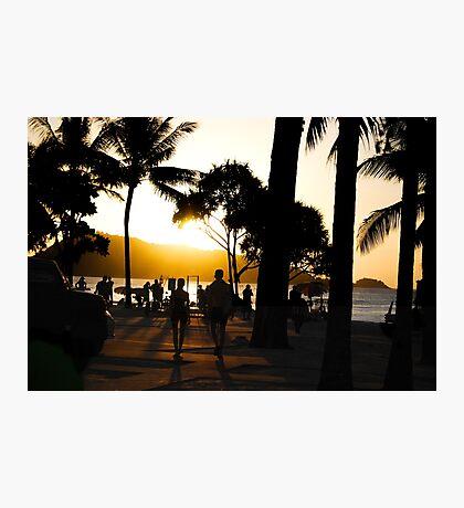 Thai Beach Sunset Photographic Print