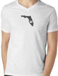 Florida Equality Mens V-Neck T-Shirt