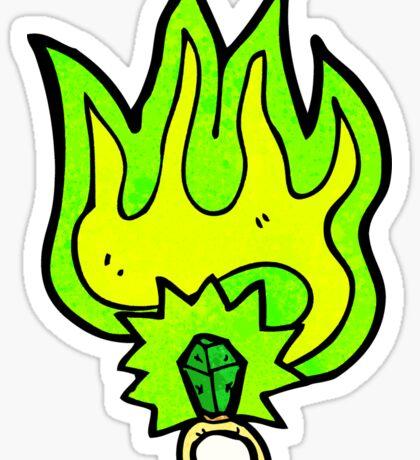 magic ring cartoon Sticker