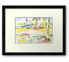 Rushcutters Bay Park Framed Print