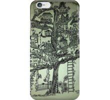 treehouse neighborhood iPhone Case/Skin