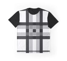 Black & white Squares  Graphic T-Shirt