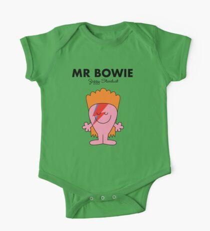 Mr Bowie One Piece - Short Sleeve