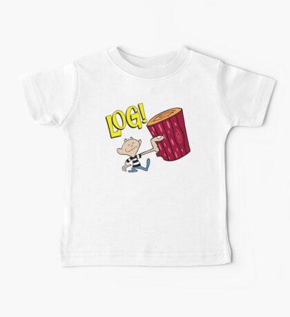 Log 2 Baby Tee