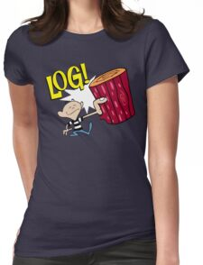 Log 2 Womens Fitted T-Shirt