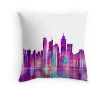 Artistic - XXVI - Abstract Cityscape Throw Pillow