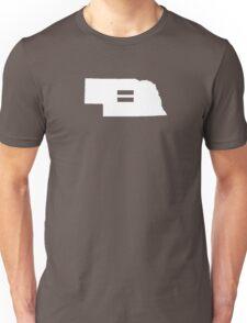 Nebraska Equality Unisex T-Shirt