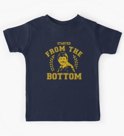 Matthew Lewis - Started from the Bottom Tee Kids Tee
