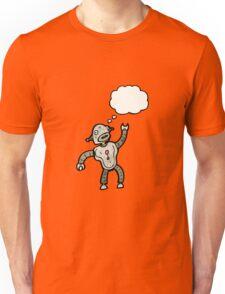 dancing robot cartoon Unisex T-Shirt