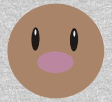 Diglett Ball One Piece - Long Sleeve