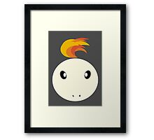 Ponyta Ball Framed Print