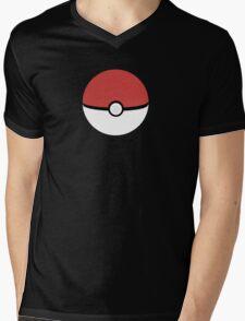 Poke Ball Mens V-Neck T-Shirt