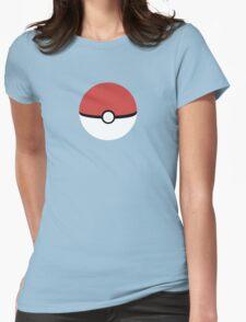 Poke Ball Womens Fitted T-Shirt