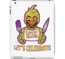 FIVE NIGHTS AT FREDDY'S-Chica- CELEBRATE iPad Case/Skin