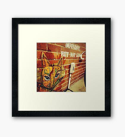 Fox & Arrows Framed Print