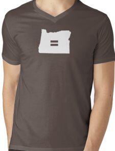 Oregon Equality Mens V-Neck T-Shirt