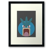 Gyarados Ball Framed Print