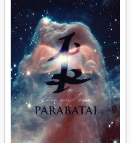 The mortal instruments : Shadowhunter rune - Parabatai Sticker
