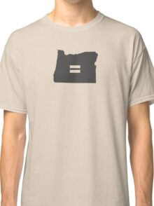 Oregon Equality Classic T-Shirt