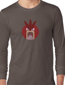 Red Gyarados Ball Long Sleeve T-Shirt